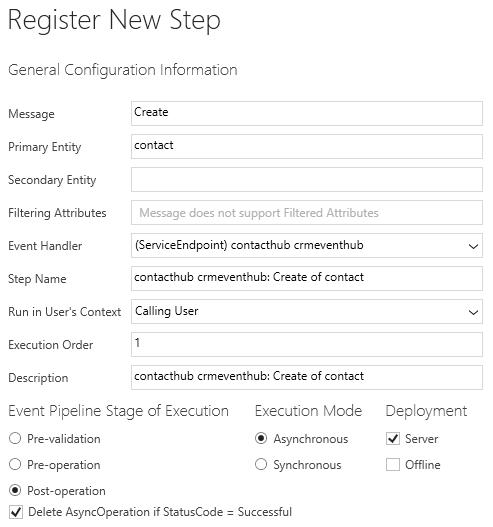 Register New Step
