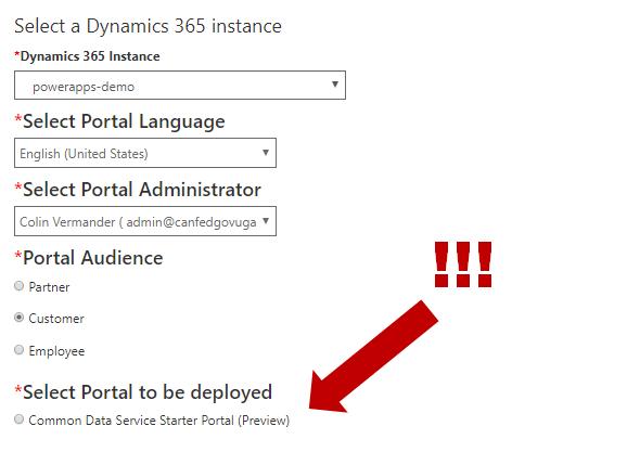 Deploy a CDS Starter Portal (Preview) – Colin Vermander